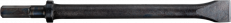 Breitmeißel S12,5x36 NL 125x40mm