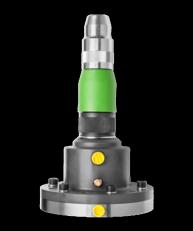 KE 702 D mit Anlaufsicherung und integrierter Schwingungsdämpfung für den Einsatz am Roboter